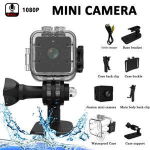 Wholesale SQ8 SQ11 SQ12 Mini Camera HD P Mini Camcorder Night Vision Sport Outdoor DV Voice Video Recorder Action Sport Outdoor Waterproof Camera