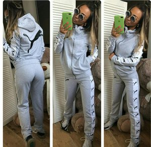 Wholesale Digital Number Motion Leisure Time Sweater Suit Woman women sports ladies tracksuits jogging Print Two pieces dress top skirt set