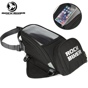ROCK BIKER Motorcycle Tank Bag fuel bag magnetic Mobile phone navigation Bags Top case