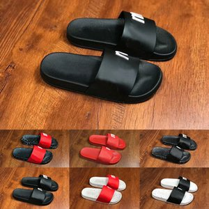 Wholesale 2019 Newest Mens Womens Designer Slides Slipper Shoes Fashion Luxury Boys Girls Flat Sandals Indoor Outdoor Beach Flip Flop Casual Shoes