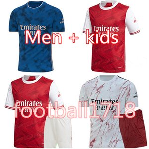 ingrosso set di calcio rossi-Kit per bambini Kit Hone Red Soccer Jersey Suit Camicia da calcio Camiseta de Futbol Maillot de Foot Set Uniform