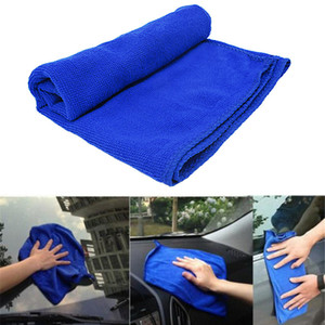 Wholesale 1pc Car Care Polishing Towels Soft Microfiber Cleaning Towel Car Wash Dry Fiber Plush Polyester Fiber Cleaning Cloth