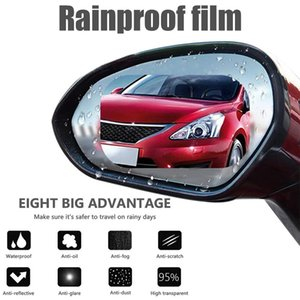 Wholesale Universal Waterproof Rainproof Fil Car Rearview Mirror Film Full Screen Glass Anti Fog Side Window Reflective Mirror