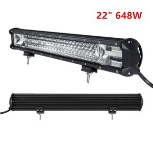 Wholesale 22 Inch W Auto LED Work Light Bar Flood Spot Combo Driving Lamp For Car Truck Offroad XR657