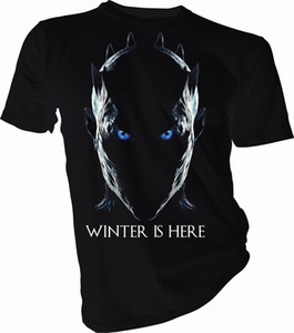 Winter is Here Night King, Game of Thrones Adult & Kids T-Shirt free shipping Casual tshirt