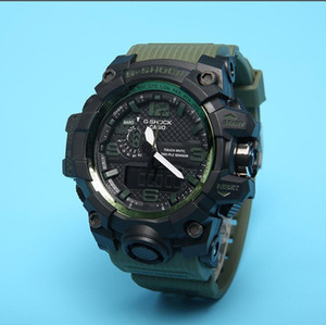 Cassio G-Shock Wristwatch girls boy Shock Sports Watches Student Outdoor Running men Sports Watch LED Dual Display Multi-function Watch on Sale