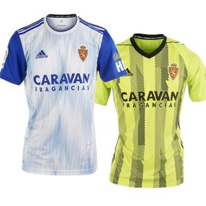 Wholesale 2019 Real Zaragoza #23 SHINJI KAGAWA Soccer Jersey 19 20 Home white 21 ZAPATER Soccer Shirt VAZQUEZ POMBO Saragossa Borja Football Uniform