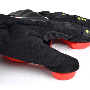 Wholesale Longboard Gloves Black Red POM Skateboard Wear Resisting Racing Brakes Protect Hand Sporting Goods Protective Gear Non Slip
