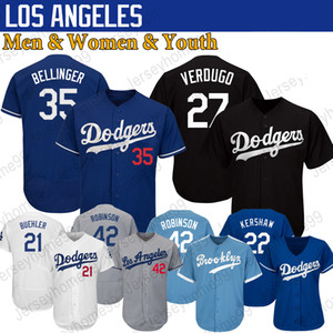 Los Angeles Dodger Jerseys Custom Clayton Kershaw Alex Verdugo Cody Bellinger Justin Turner Corey Seager Yu Darvish