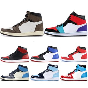 Wholesale Air Jordan Retro High OG Basketball shoes UNC s Top Men Homage To Home Mens Trainers Sport Sneakers Walking Hiking Shoe