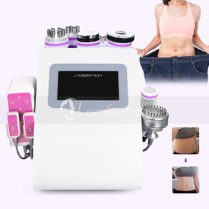 Wholesale Uniosetion Cavitation RF Vacuum Cold Photon Micro Current Lipo Laser mw Slimming Machine For Salon Use