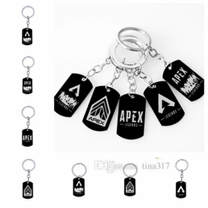 Wholesale PEX LEGNDS hang tag key chain stainless steel letter key chain bag zipper pendant fashion collection children s toys T2C5026