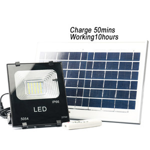 KING KONG 20W solar powered led remote control floodlights outdoor 20W solar led street pathway lamp