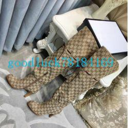 Wholesale aafashion latest luxury women s designer boots leather high heels spring and autumn over the knee boots winter women s shoes