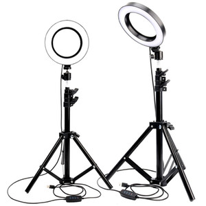 Wholesale LED Ring Light Photo Studio Camera Light Photography Dimmable Video light for Youtube Makeup Selfie with Tripod Phone Holder