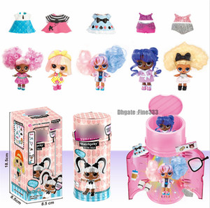 Wholesale dolls series for sale - Group buy Hairgoals Capsule Makeover Series Hairgoals DIY Doll Toys Kids Best Gifts Colorful Figures Ball Toys