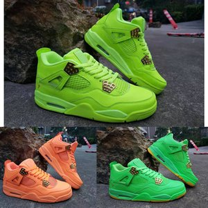 Wholesale 2019 cheap new lemon green orange men s basketball shoes high quality men s designer training sports shoes with box