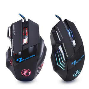 Wholesale Original iMICE X7 Wired Gaming Mouse Buttons DPI LED Optical Wired Cable Gamer Computer Mice For PC Laptop