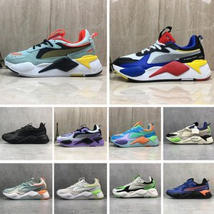 Wholesale Cool Designer RS X Reinvention Mens Casual Shoes Black Purple White Fashion Creepers Dad Men Women Running System Trainer Sports Sneakers