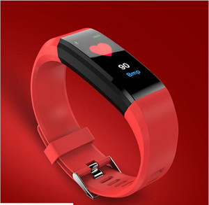 Heart Rate, Blood Pressure, Sleep Health and Waterproofing of Color Screen Intelligent Hand Ring Motometer,Smart bracelet,Step Counter