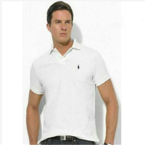Wholesale Classic style POLO Ralph design POLO shirt cotton double buckle casual trend fashion avant garde men s POLO shirt kl