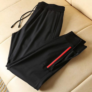 Wholesale Mens fall designer new fashion Pressing glue design track jogging pants CHINESE SIZE pants tops mens yoga joggers track sweat pants