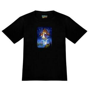 The Swan Princess Movie Poster Art Men's Novelty T-Shirt