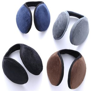 Wholesale Winter Unisex Men and Women Fleece Warmer Earmuff Warm Plush Cloth Ear Muffs Cover Earwarmers Ear Muffs Earlap Warmer