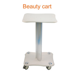 High Quality Movable Rolling Table Beauty Trolley Stand Cart Aluminum Stand Holder For Water Oxygen Peel Ultrasonic Beauty Machine