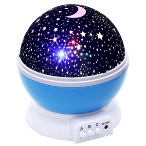 Wholesale Lightme Stars Starry Sky LED Night Light Projector Moon Lamp Battery USB Kids Gifts Children Bedroom Lamp Projection Lamp
