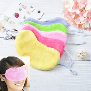 Wholesale Cotton Sleep Rest Comfort Blindfold Shield Patch Sleeping Aid Eye Mask Eye Cover Eyeshade Random Color