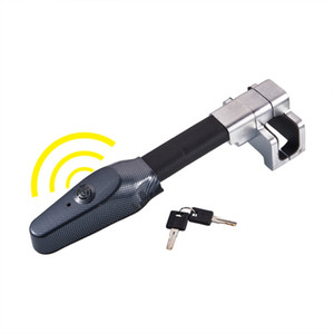 Wholesale Universal Steering Wheel Lock Universal Security Car Anti Theft Safety Alarm Lock Retractable Anti Theft Protection T lock
