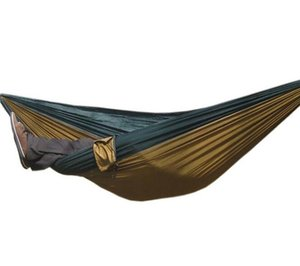 Wholesale Parachute cloth hammock outdoor camping air tents camping supplies convenient