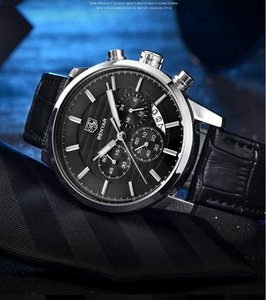 Fashion Luxury Designer Swiss Watch leather Moon phase Watch Automatic Men Wristwatch Mens Mechanical steel Watches relogio masculino reloj