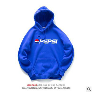 Wholesale Fashion Brand Union Hoodies Teenager Skateboard Oversize Pullover Hoodies Japanese Style Pepsi Hooded Sweatshirts for Men and Women