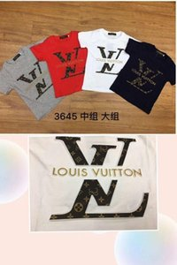 19Children S Round Neck T-shirt Fashion Children S Clothing Cotton Printing Handsome Bottoming Shirt New High-end Products Boy7759