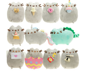 Wholesale 7in Pusheen The Cat Pusheen With Cookie Plush Soft Toy Stuffed Animal BRAND NEW