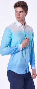 Wholesale Dufy Men's Shirt - Extra Slim Fit Ship from Turkey HB-002879706