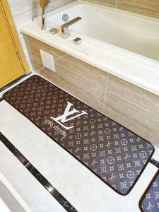 Wholesale Kitchen Bathroom Bathtub Bedside Wash table carpet Home Kitchen Rugs Modern Carpets Non Slip backing Doormat Runner Mats piece suit Mute4