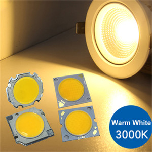 Wholesale cob led 5w chip for sale - Group buy 3W W W W W COB LED square lamp chip Warm white positive white high power mm mm diameter luminous surface
