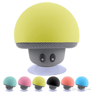 Wholesale waterproof mini mushroom wireless bluetooth speaker for sale - Group buy Mini Bluetooth Speaker Wireless Waterproof Speakers Bluetooth Portable Mushroom Heavy Bass Stereo Music Speaker With Mic