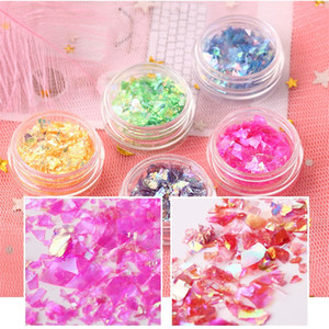 Wholesale Nail Art Decoration Shell Glasses Paper D Design All For Manicure Nail Accessories Nagel Decoratie Art Tools