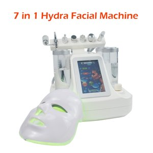 Wholesale black ice machine for sale - Group buy Black head removal in hydrafacial water dermabrasion oxygen spray microcurrent ice cooloing face skin rejuvenation machine
