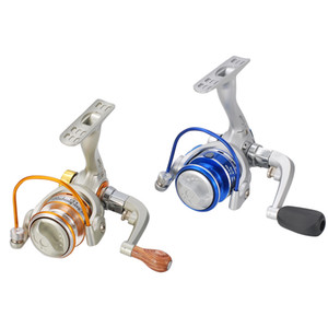 Wholesale Cheap Reels LIZARD MN150 new BB mini reel sea small gold spinning for lure or ice