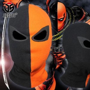 New JLA Deathstroke Arrow Superhero Balaclava Cosplay Costume Halloween X-men Hats Deadpool Cotton Rib Fabrics Full Face Mask