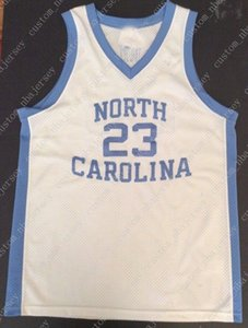 Cheap custom VINTAGE MICHAEL NORTH CAROLINA 1982 JERSEY NCAA Stitched Customize any number name MEN WOMEN YOUTH XS-5XL on Sale