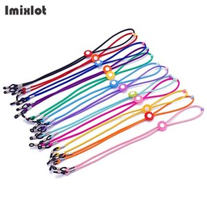 Wholesale 12Pcs Kids Glasses Rope Eyeglass Eyewears Sunglasses Reading Glasses Chain Cord Holder Neck Strap Jewelry Accessories for Girls