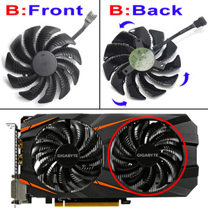 88MM PLD09210S12HH T129215SU Cooling Fan For Gigabyte GeForce GTX 1070 1050 Ti GTX 1060 960 RX 480 570 Graphics Card Cooler Fan