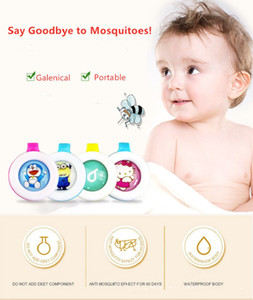 Big Sale Solid Mosquito Repellent Buckle Cartoon Waterproof Anti Mosquitoes Buckle Avoid Bugs Button with NO DEEP Kids Summer Cute Gadgets