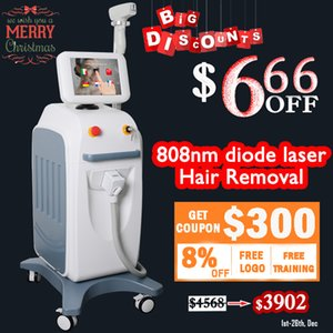 Wholesale 2019 Best trading soprano ice laser nm Diode Laser Hair Removal Machine For Sale Fiber Coupled Diode Laser